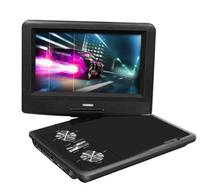 Impecca DVP775K 7 Inch Swivel Screen, Portable DVD Player,