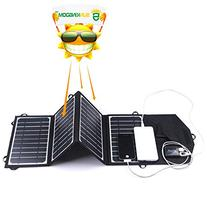 SUNKINGDOM™ 16W 2-Port USB Solar Charger with Portable