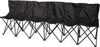 Portable 6-Seater Folding Team Sports Sideline Bench with