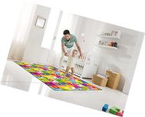 "Portable Folding Play Mat -Play Road Size 55""x78""x 0.40"