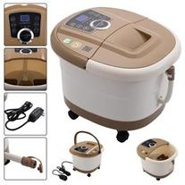 Portable Foot Spa Bath Massager Bubble Heat LED Display