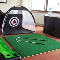 Portable golf practice net-home-easy installation
