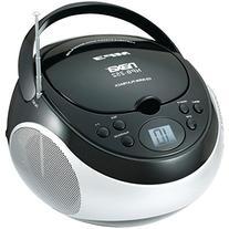 Naxa Portable Mp3/Cd Player with Am/Fm Stereo Radio- Black