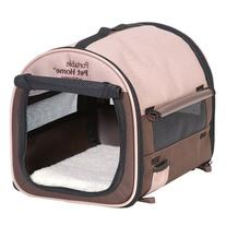 Petmate Portable Pet Home, Small, Dark Taupe/Coffee Grounds