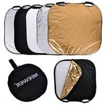 Neewer Portable Square 32 Photography Reflector 5-in-1