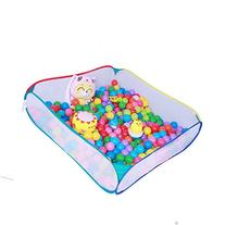 Kids Portable Square Net Ocean Pit Ball Pool