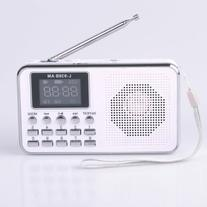 Mfine Portable Mini USB AM/FM Radio Speaker Music Player
