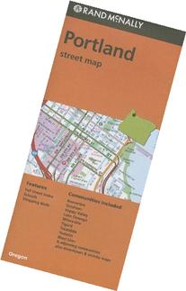 Rand McNally Portland, Oregon Street Map