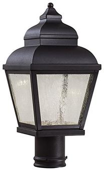 Minka Lavery 8266-66-L LED Outdoor Post Mount, Black Finish