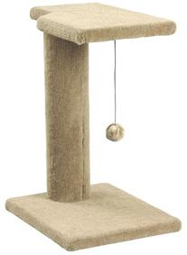 Whisker World Post and Perch Combo Cat Furniture, Beige