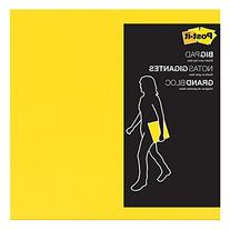 Post-it Big Pad, 11 in x 11 in, Bright Yellow, 30 Sheets/Pad