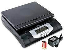 Weighmax 75 lbs. Digital Shipping Postal Scale, Black