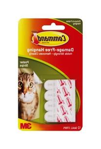 Command Poster Strips, 12-Strip, 3-pack