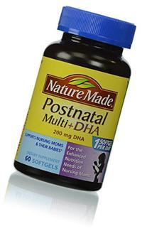 Nature Made Postnatal Multi+DHA 200mg Dietary Supplement