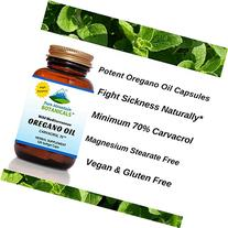 High Potency Wild Oregano Oil - 120 Vegetarian Capsules -