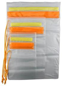 SE - Pouch Set - Plastic, Waterproof, Hook & Loop Closure, 3 Pc - TP126-3