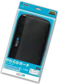Pouch for Wii U GamePad soft black  Nintendo official