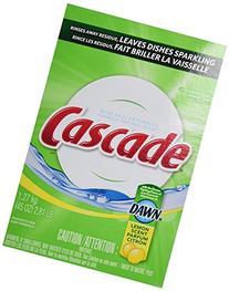 Cascade Powder Dishwasher Detergent Lemon Scent, 45 Oz