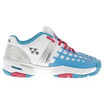 Yonex Women's Power Cushion Pro Tennis Shoe- Sax- 5.5