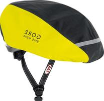 Gore Bike Wear Power Helmet Neon Cover, Black/Neon Yellow,