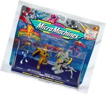 Power Rangers Micro Machines #2 Dragonzord Vs Goldar