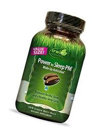 Irwin Naturals Power to Sleep Pm Economy Diet Supplement,