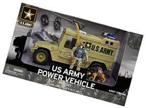 United States Army Power Vehicle Playset with K-9