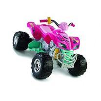 Fisher-Price Power Wheels Barbie Kawasaki KFX - Twist Grip