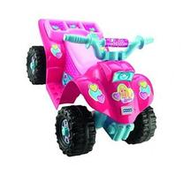 Fisher-Price Power Wheels Barbie Lil' Quad - Drives On Hard