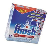 Powerball Dishwasher Tabs, Fresh Scent, 4 Boxes of 60 Tabs/