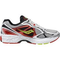 Saucony PowerGrid Guide 7 Running Shoe - Men's White/Red/