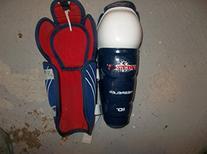 CCM Powerline Ice Hockey Shin Guards - size 10 inch - very