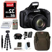 Canon Powershot SX530 HS Camera with 32GB Deluxe Accessory