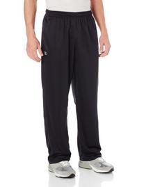 Champion Men's Powertrain Knit Training Pant, Black/Slate