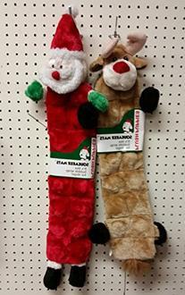 Outward Hound Kyjen PP03320 Squeaker Mat Santa Holiday 16-
