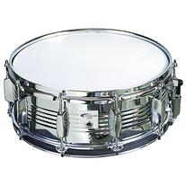 Percussion Plus PP130 5.5 x 14 Inches Chrome Snare Drum