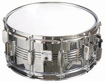 Percussion Plus PP140 6.5 x 14 Inches Chrome Snare Drum