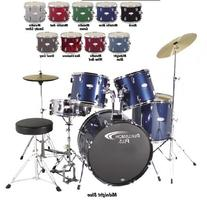 "Percussion Plus PP3350 5-piece Drumset w/20"" Bass Drum -"