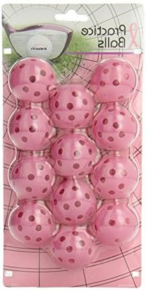 Intech Practice Balls12 Pack Pink