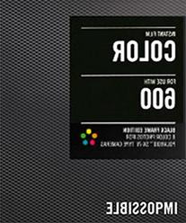 Impossible PRD3553 Color Instant Film  for Polaroid 600-Type