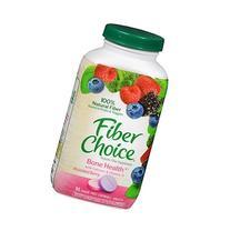 Fiber Choice Prebiotic Fiber, Plus Calcium + D, Chewable