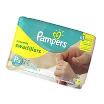 Pampers Preemie Swaddlers P-s 27 Diapers