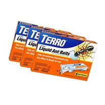 TERRO PreFilled Liquid Ant Killer II Baits-3 Pack