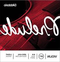 D'Addario Prelude Violin String Set, 3/4 Scale, Medium