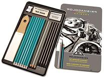 Prismacolor Premier Graphite Drawing Pencils with Erasers &