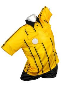 Kwik Goal Premier Referee Jersey, Yellow, Small