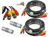 ACELEVEL 2 PACK PREMIUM 100Ft.THICK BNC EXTENSION CABLES FOR