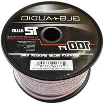 GLS Audio Premium 12 Gauge 100 Feet Speaker Wire - True