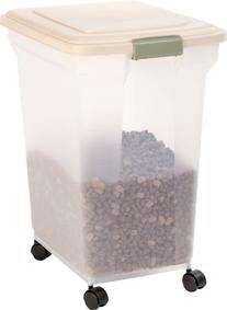 IRIS Premium Airtight Pet Food Storage Container, 67-Quart,