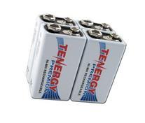 4 pcs of Tenergy Premium 9V 200mAh NiMH Rechargeable